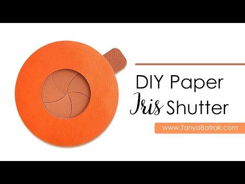 DIY Paper Iris Shutter