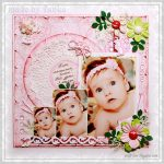 Little Angel scrapbook layout