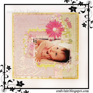 Summer scrapbook layout