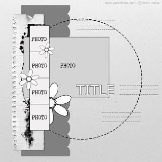 First autumn scrapbook layout