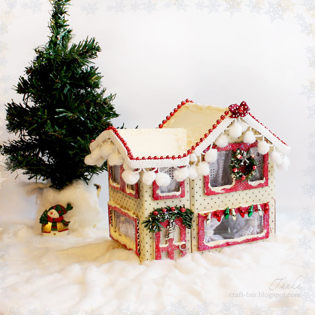 Christmas house tutorial