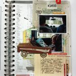 Scrap journal and a photo frame for driving instructor