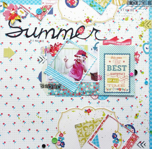 flowers • lemons • summer