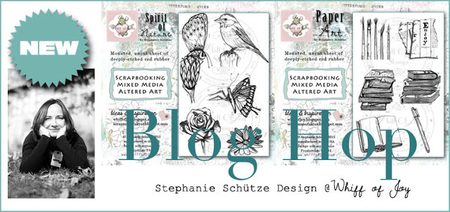 Blog Hop – Paper Art stamps