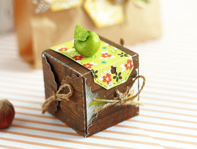 Colorful Autumn Gift Box