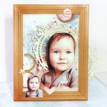 Scrapbook Winter Frame