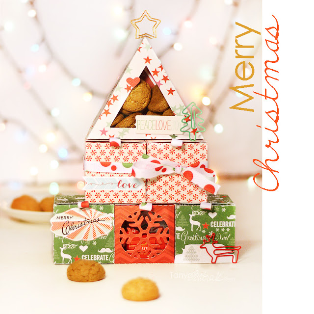 Christmas Tree Gift Boxes Tower