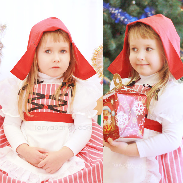 DIY Kids Costumes Little Red Riding Hood