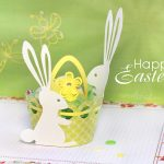 Easter Bunny Egg Holder Cut File