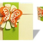 Gift Box with Butterfly Cut File