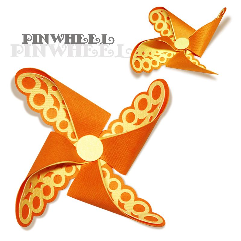 Paper Pinwheels Cut Files