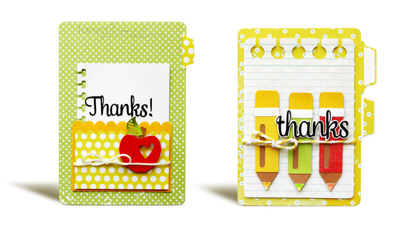 Teacher Appreciation Cards and Gift Boxes Cut Files