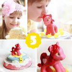 DIY Cake with Little Pony