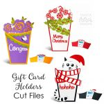 Gift Card Holders Cut Files