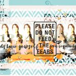 Digital Mixed Media Scrapbook Layout