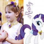 DIY Rarity Pony Costume