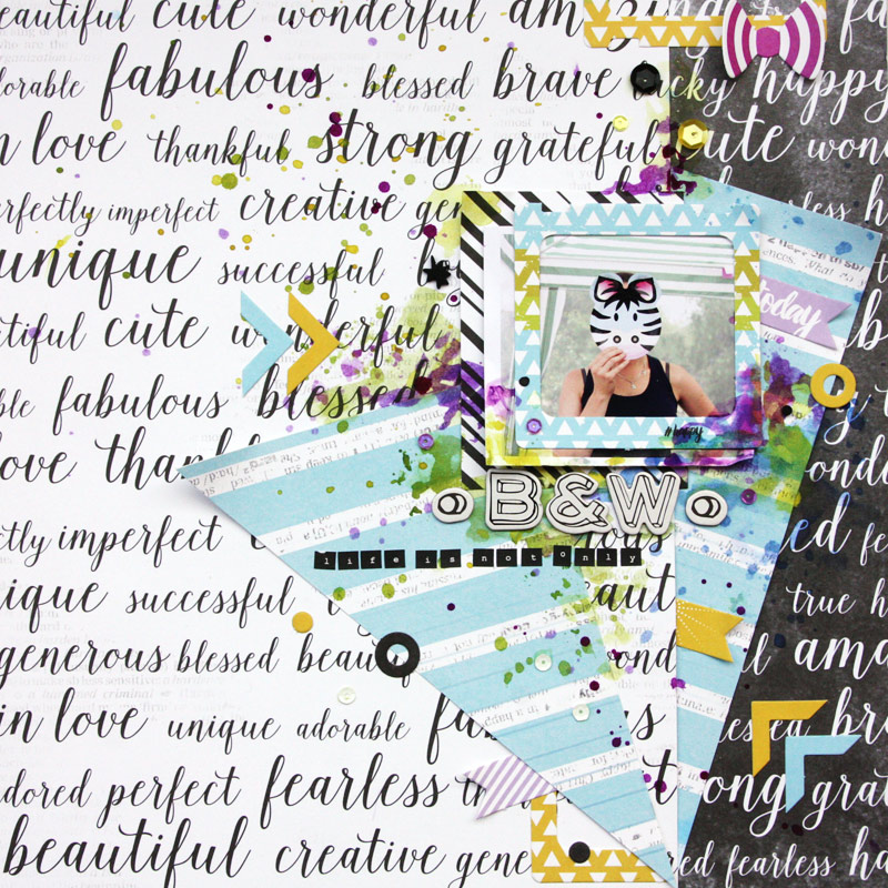scrapbook layout tutorial