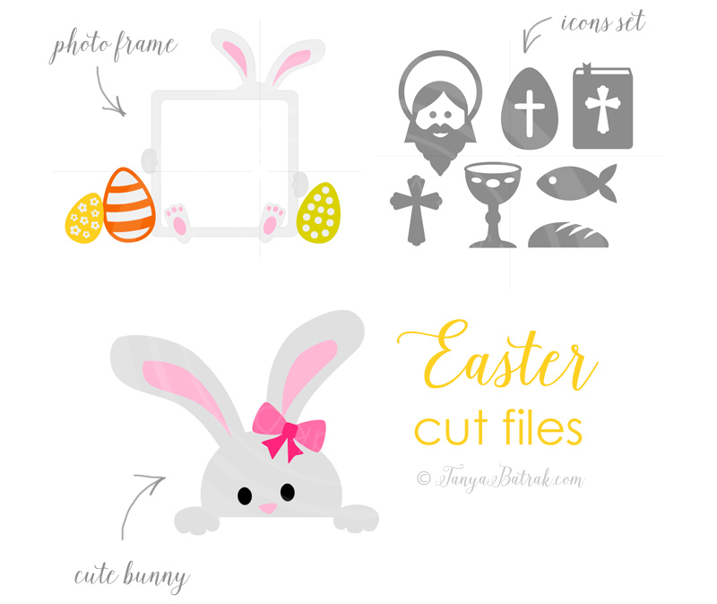 Easter themed cut files