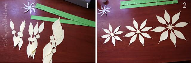 paper clematis flower