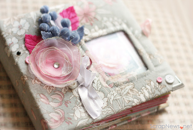 mini scrapbook album tutorial