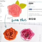 Tips and Tricks How to Use Layered Rose Cut File
