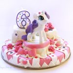 Cake Decor - Gum Paste Pony Rarity