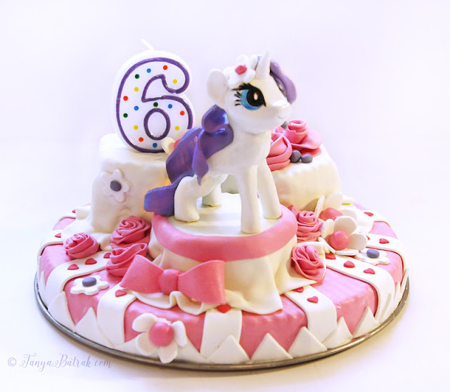 Cake Decor – Gum Paste Pony Rarity