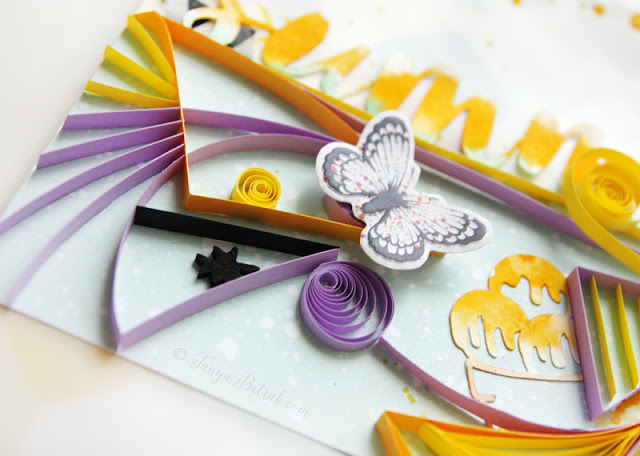 scrapbooking and quilling