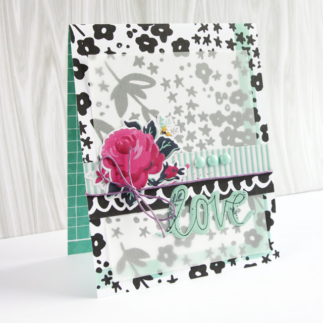 Vellum Background for a Card