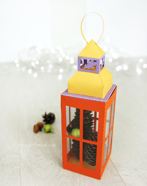DIY Paper Lantern Favor Box