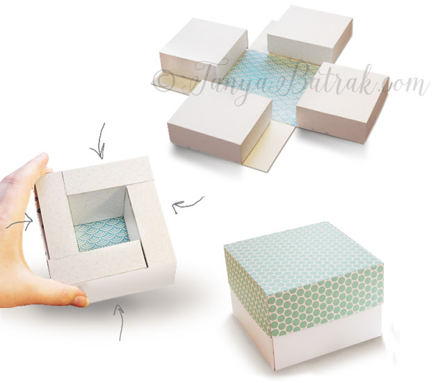 DIY Exploding Box Template