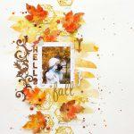 Hello Fall • Scrapbook Layout