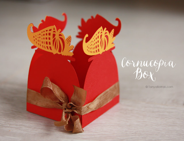 Thanksgiving Favor Boxes and Autumn Themed Cut Files
