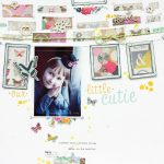 Scrapbook Layout with Frames