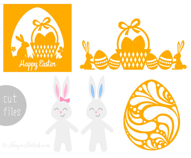 Easter cutting files