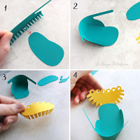 diy paper baby shoes