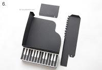 paper piano box