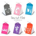 Cute Triangle Boxes Cut Files