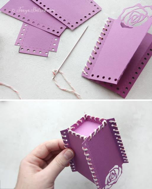 cut file stitched box
