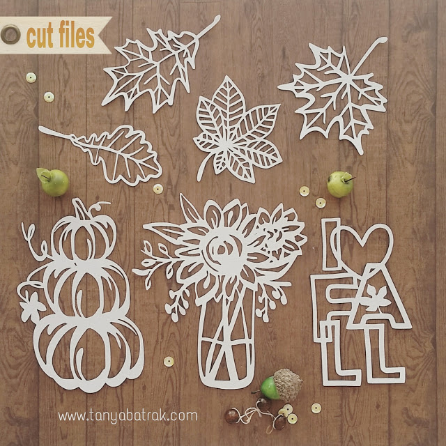 Owl Treat Box and Autumn Cut Files