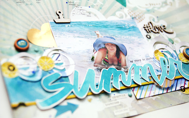 scrapbook ideas for summer