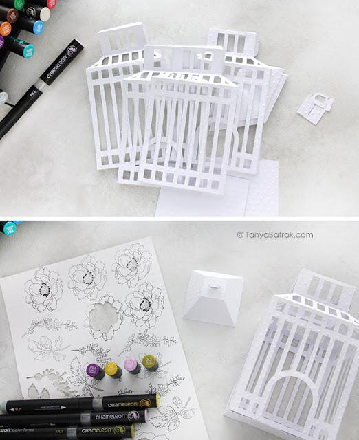 diy paper cage