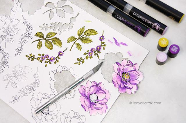 chameleon pens coloring