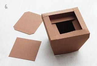 3d paper pot tutorial