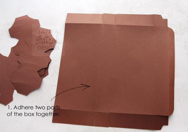 diy paper chocolade bar