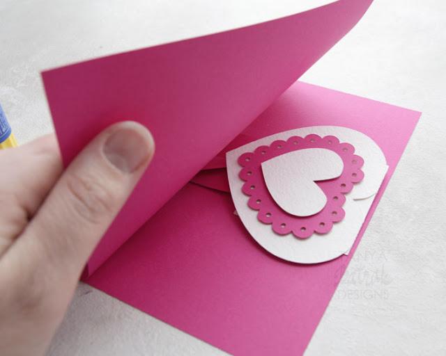 heart pop up card tutorial