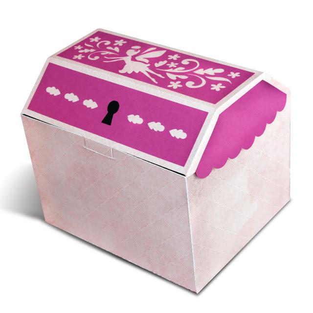 fairy treasure box cut file