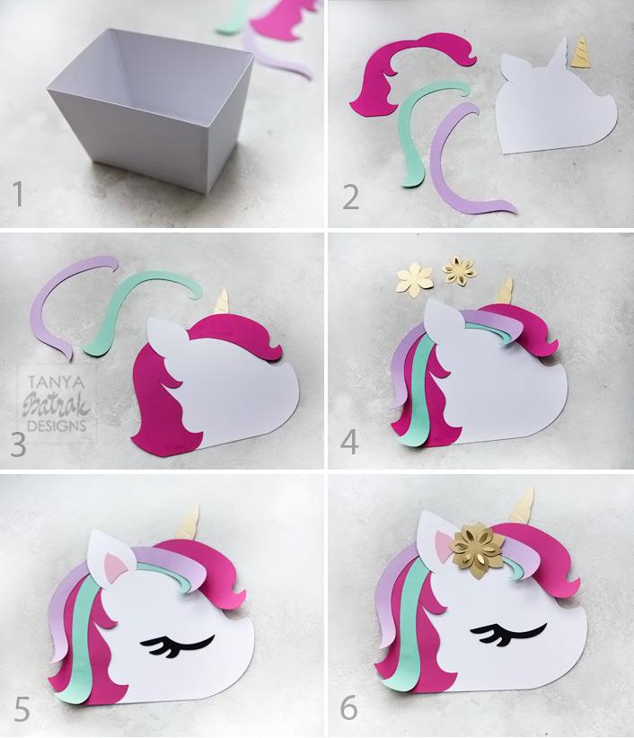 unicorn favor box 1