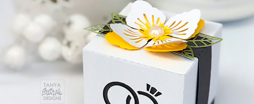 Wedding Favor Box SVG
