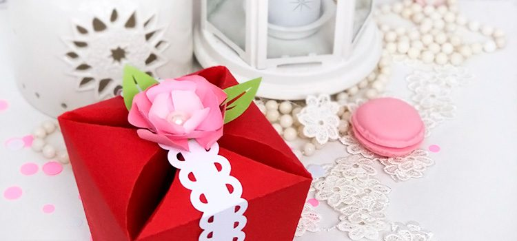 DIY Gift Box for Valentine's Day